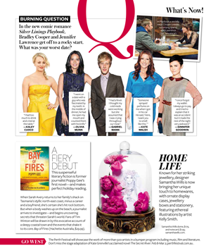 InStyle reviews Bay of Fires.